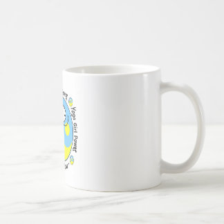 Yoga Girl Power Logo Coffee Mug