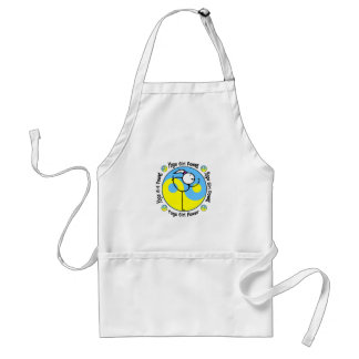 Yoga Girl Power Logo Standard Apron