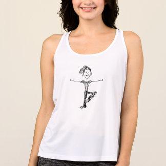 Yoga girl tank top