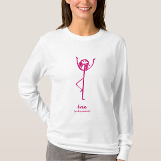 Yoga Girl tree hoodie