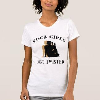 Yoga Girls Are Twisted T-Shirt Shirts