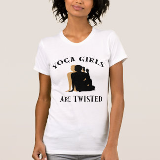 Yoga Girls Are Twisted T-Shirt T Shirt