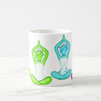 Yoga Girls Basic White Mug