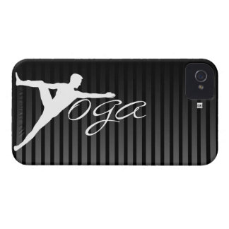 Yoga Gray iPhone 4 Case-Mate Case