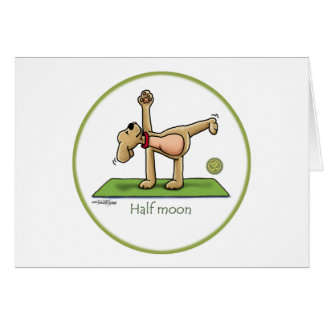 Yoga - Half Moon Card