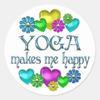 Yoga Happiness Sticker