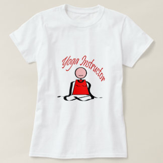 Yoga Instructor---Lotus Postion Stick Figure T-Shirt