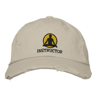Yoga Instructor Men s Embroidered Cap Embroidered Baseball Cap