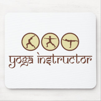Yoga Instructor Mousepads
