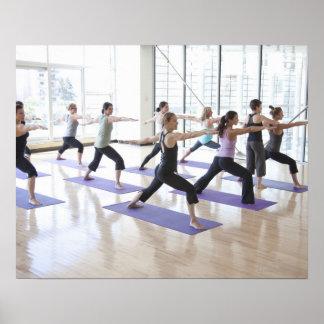 yoga class posters  zazzlecouk