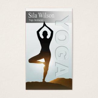 Yoga Instructor, Yoga Class Business Card