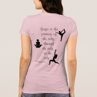 Yoga is a Journey -- T-shirt