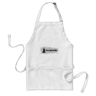 Yoga is a Way of Life Standard Apron