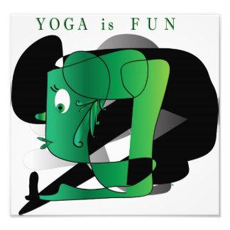 Yoga is Fun Print Photo Art