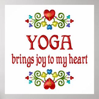 Yoga Joy Poster