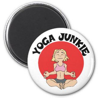 Yoga Junkie Gift Fridge Magnets