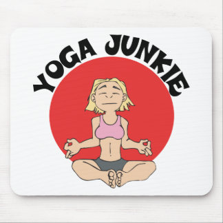 Yoga Junkie Gift Mouse Mats