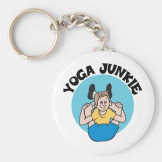 Yoga Junkie Men s Key Chain