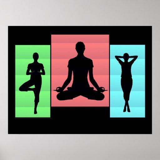 Yoga Karma Posters