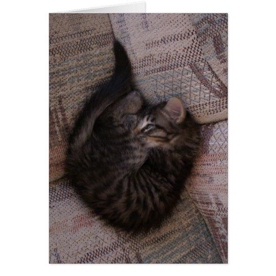 Yoga Kitten Greeting Card