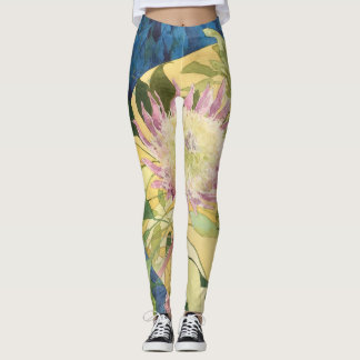 Yoga Leggings Botanical Delight