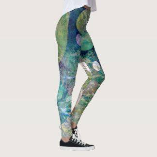 Yoga Leggings Cyberspace No 5