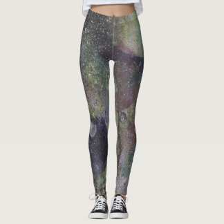 Yoga Leggings Orbs No 22