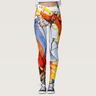 Yoga Leggings Papillons No. 1