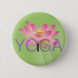 yoga lotus button