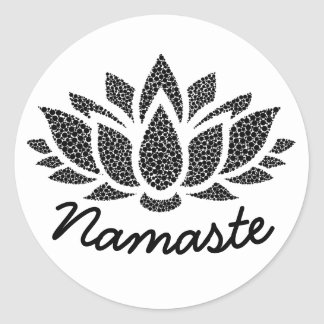 Yoga Lotus Namaste Sticker