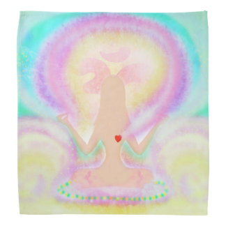 Yoga lotus pose bandana