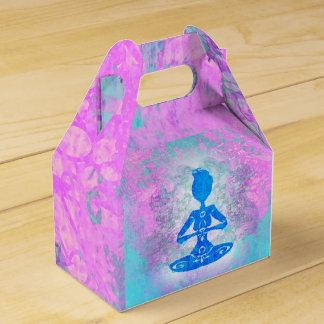 Yoga lotus pose. Favour Box