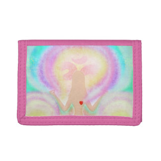 Yoga lotus pose wallet
