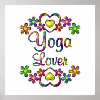 Yoga Lover Poster