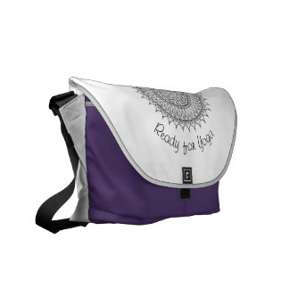Yoga medallion Bag Messenger Bags
