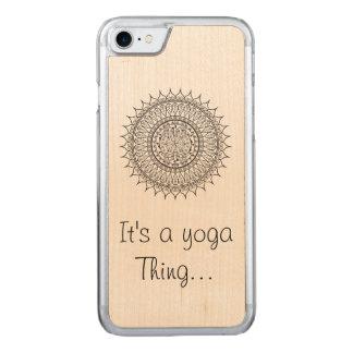 Yoga medallion Iphone Case