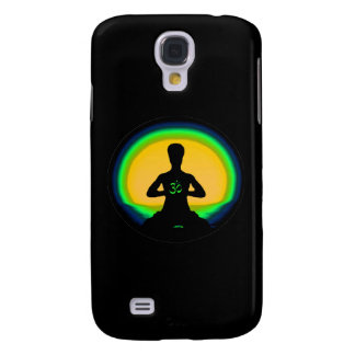 Yoga Meditation - Black iPhone Case