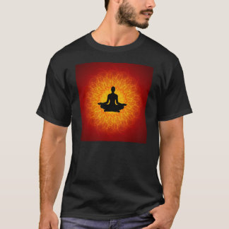 Yoga - Meditation On Mandala T-Shirt