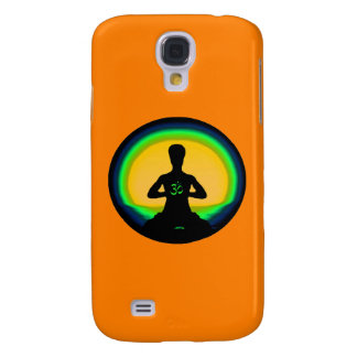 Yoga Meditation - Orange iPhone Case