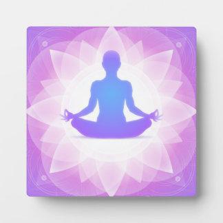 Yoga Meditation Plaque