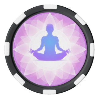 Yoga Meditation Poker Chips
