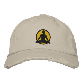 Yoga Men's Embroidered Cap Embroidered Baseball Caps
