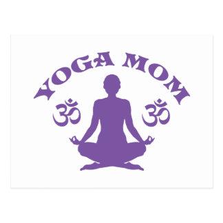 Yoga Mom Postcard