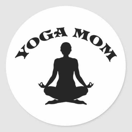 Yoga Mom Sticker