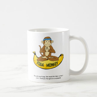 Yoga Monkey Coffee Mug