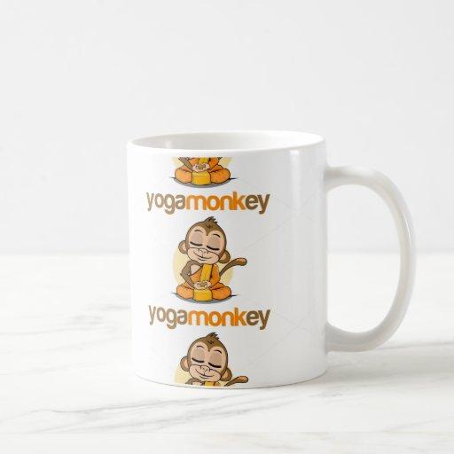 YOGA MONKEY - MONKEY SEE MONKEY DO ! COFFEE MUG