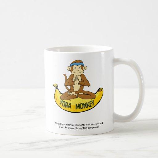 Yoga Monkey Mug