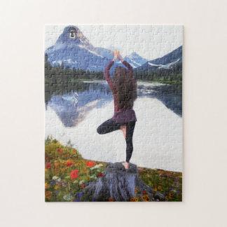 Yoga Mountain Puzzle