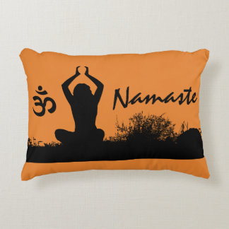 Yoga Namaste Chakra Spiritual Buddha Throw Pillow