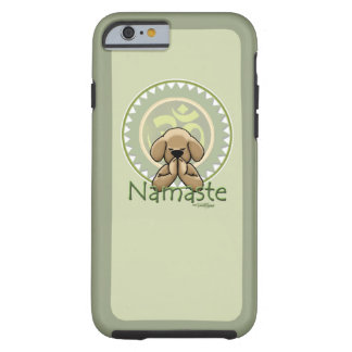 yoga namaste - iPhone 6 case Tough iPhone 6 Case